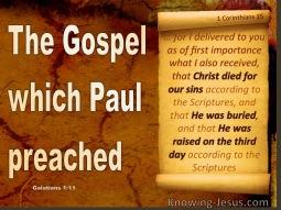 PAUL'S GOSPEL